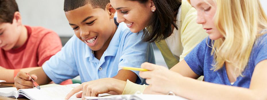 tutoring students